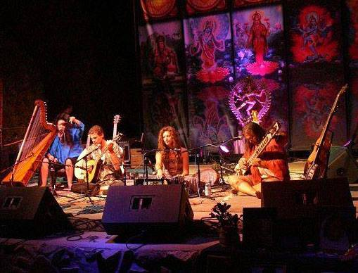Photo - SuryaChandra performing at the 2012 BhaktiFest